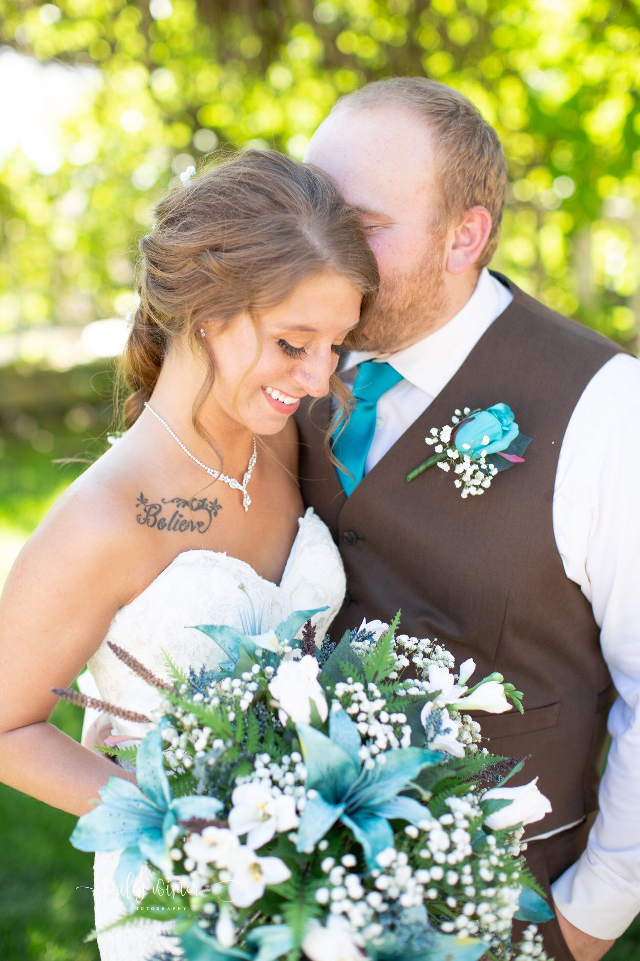Amanda and Cody photo credit Riley Winter Photography