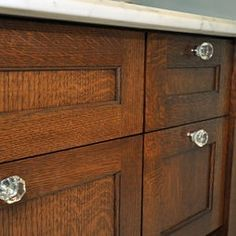 Wonderful Quater Sewn Oak Kitchen Cabinet Doors And Drawers   Yahoo Image Search  Results