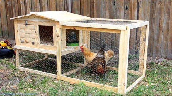 Chicken Coop Design Ideas diy condo chicken coop free plan 34 Free Chicken Coop Plans Ideas That You Can Build On Your Own
