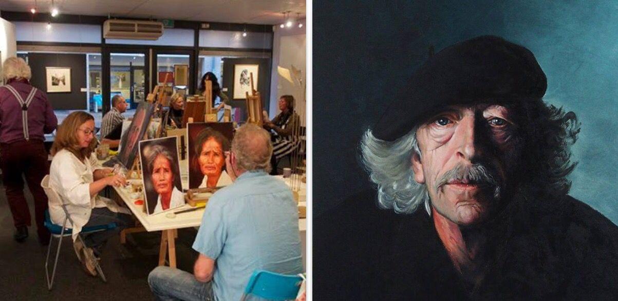 Wierden Cursus Portretschilderen In Olieverf Galerie Tolgart