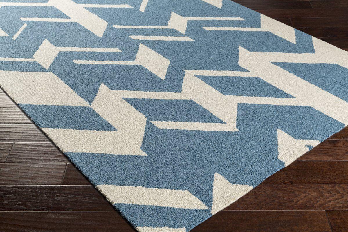 Youmans Oriental Handmade Tufted Wool Charcoal Beige Area Rug Area Rugs Modern Area Rugs Chevron Area Rugs