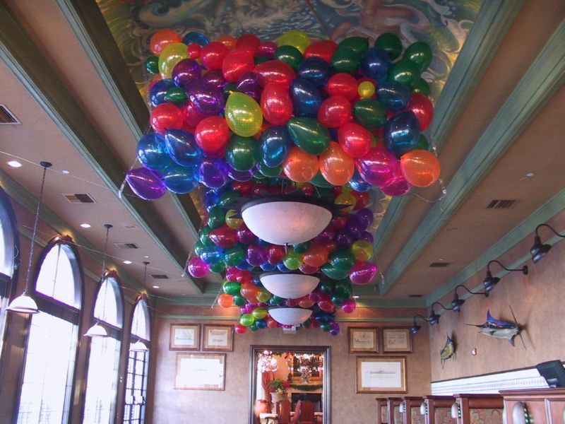 Latex balloon drops Great for New Years parties Balloon Floor