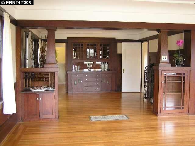 1918 craftsman room dividers 2717 san jose ave alameda - Built in room dividers ...