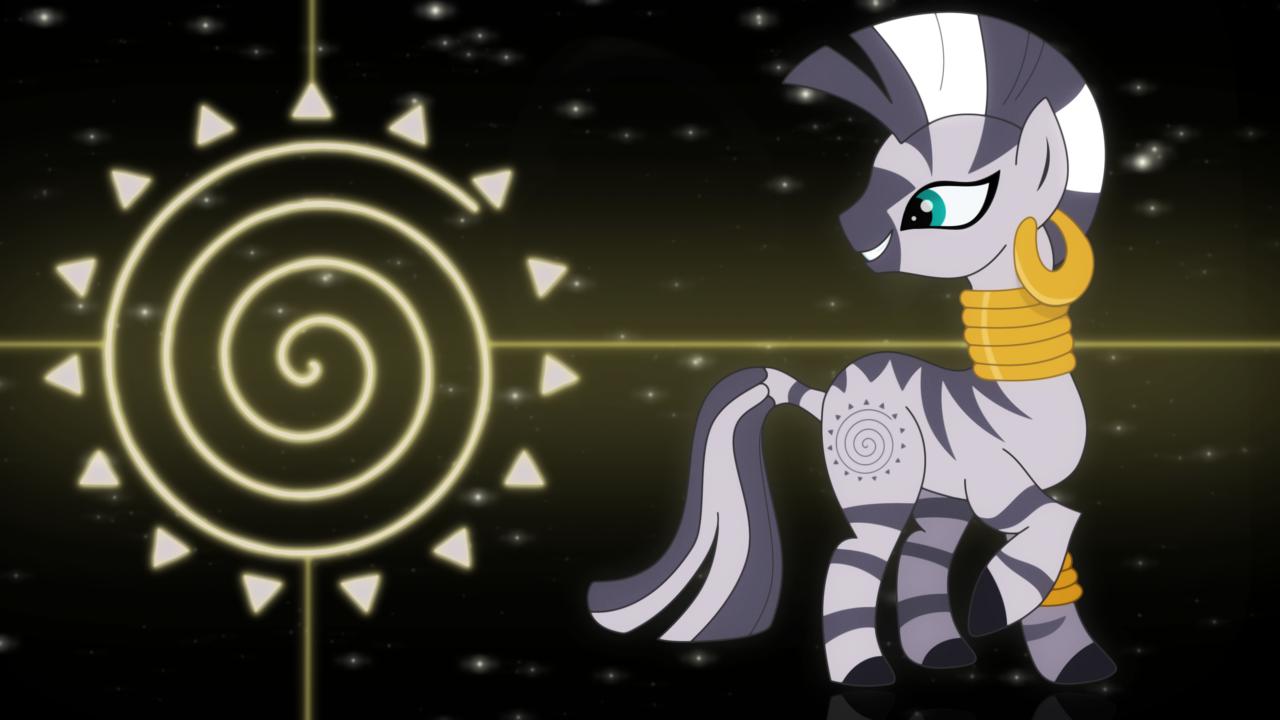 My Little Pony Coloring Pages Twilight Sparkle And Friends : Similiar mlp zecora wallpaper keywords my little pony zebra