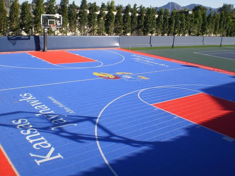 how much is a basketball court