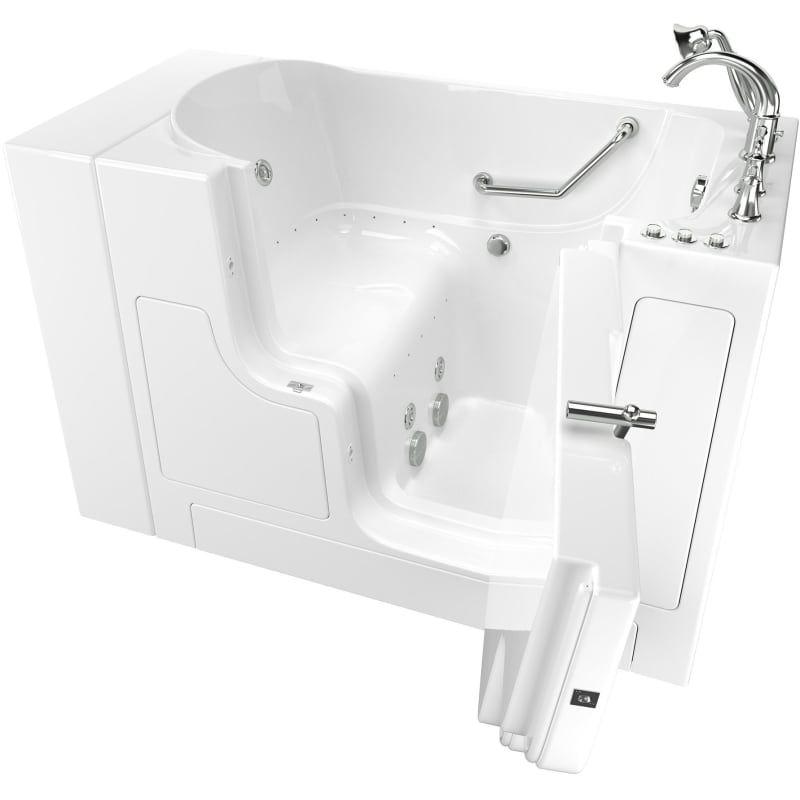American Standard 3052od 709 Cr Walk In Tubs Walk In Bathtub Whirlpool Bathtub
