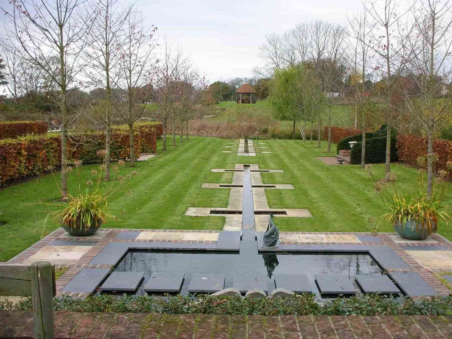 1 Acre Landscape Design | Water features in the garden ...