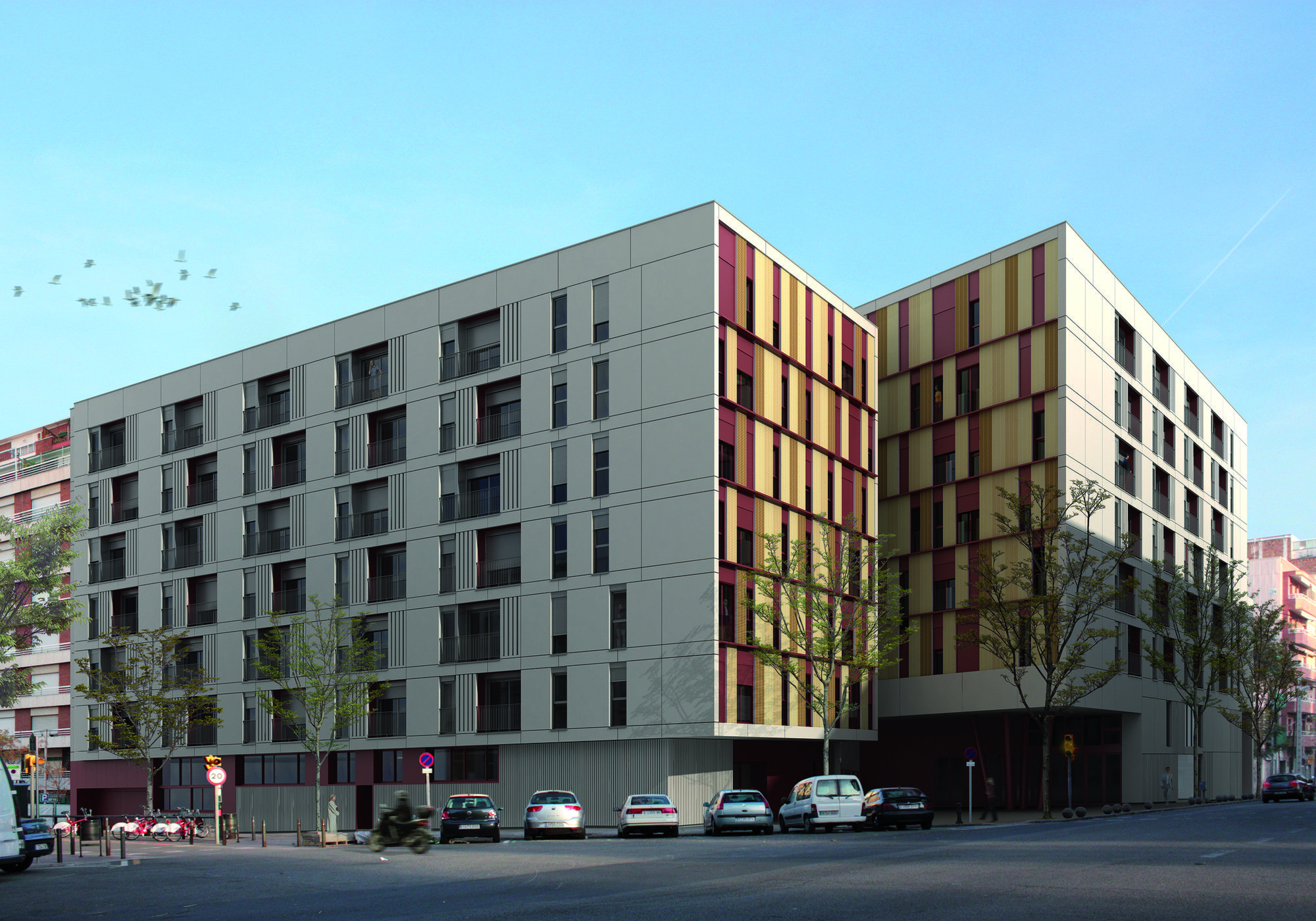 Galería - 13 Viviendas Y Equipamientos Para El Patronato Municipal De La Vivienda / ONL Arquitectura - 1