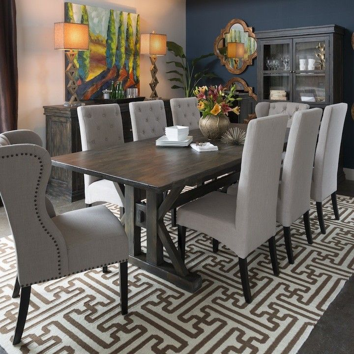 Thomas Extension Dining Table I O Metro Furniture Art