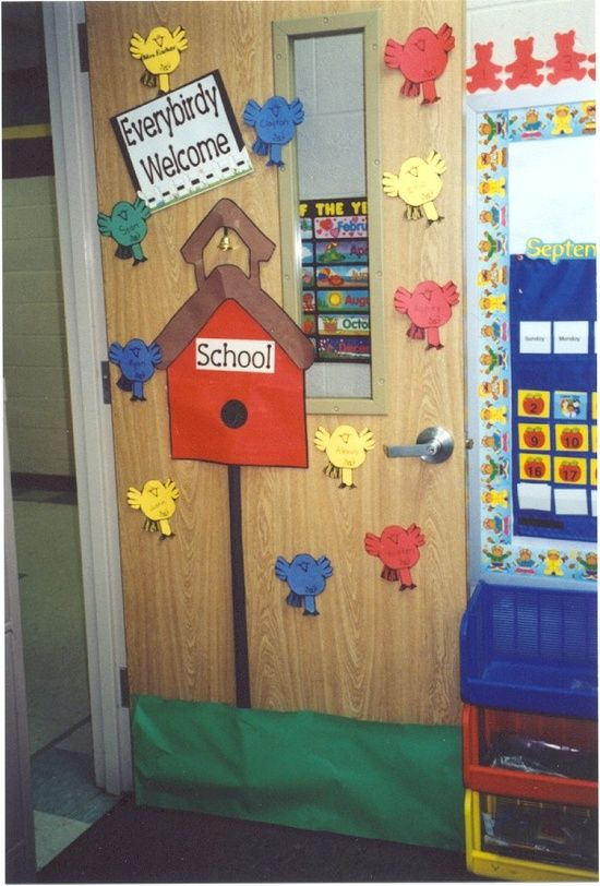 Classroom Ideas For New Years ~ Autumn door decorations fall decoration with poems