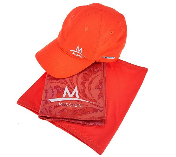 Mission Cooling Towel Performance Hat And 5 In 1 Multi Cool Set