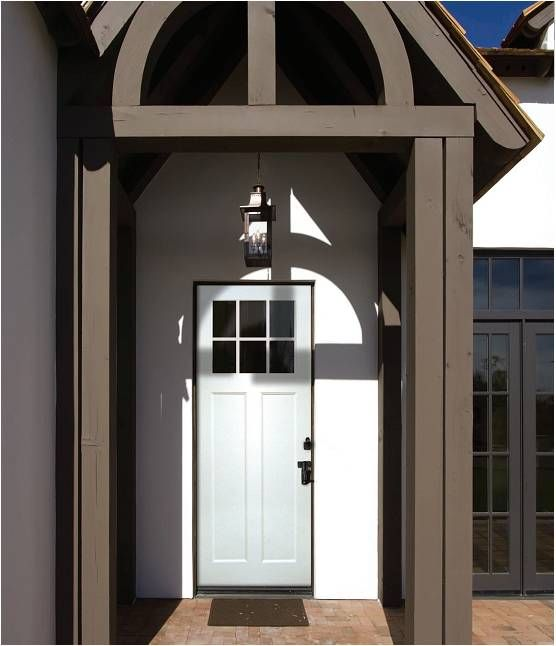 3 0 X 8 Smooth Skin Series Direct Glazed Craftsman W 6 Lite Sdl Bars As A fibergl Entry Door Manufacturer Plastrpo Produces