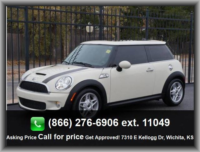 2010 Mini Cooper S Hatchback Tires Width 195 Mm Total Number Of Speakers 6 Stability Control Remote Power Door Locks D Hatchback Mini Cooper S Wichita