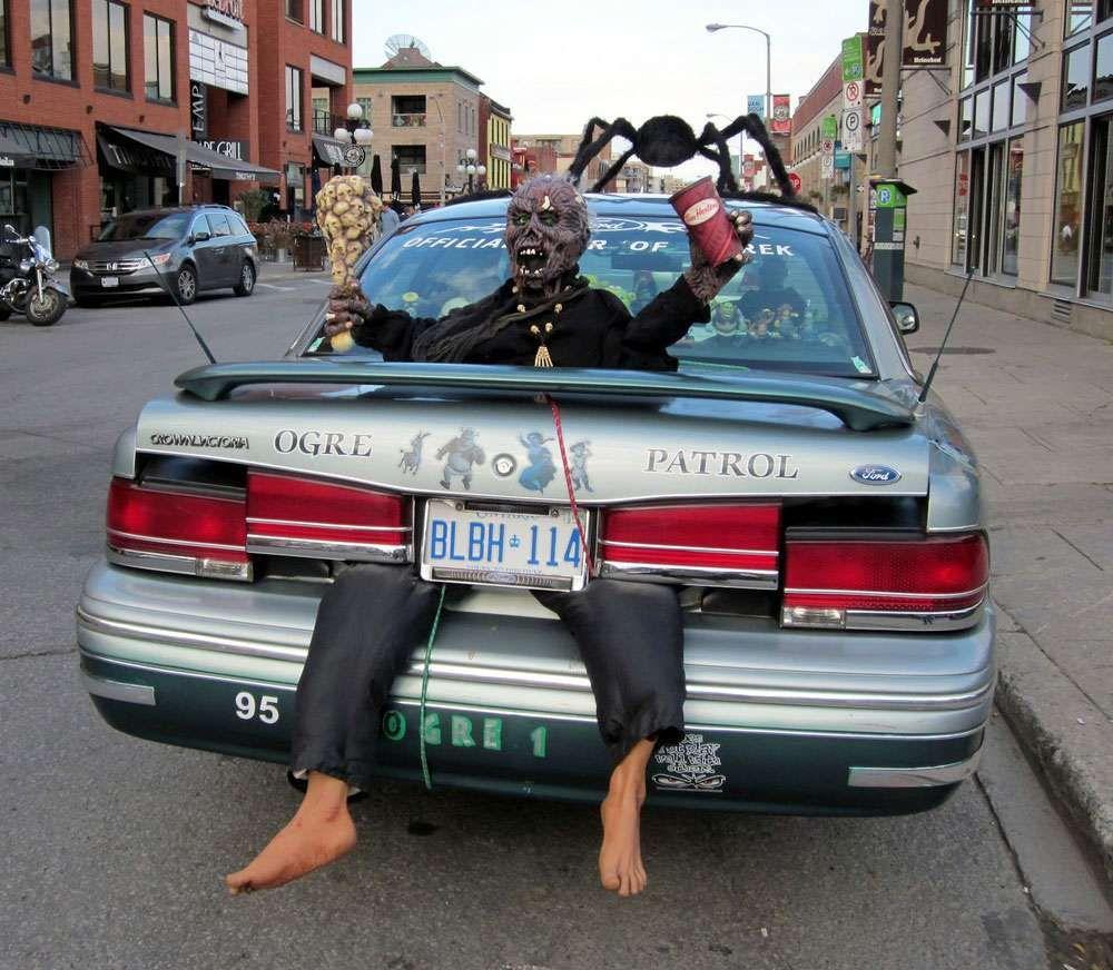 dcoration vraiment russie de cette voiture pour halloween halloween voiture vehicule - Zombie Voiture