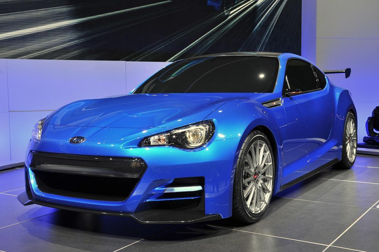 Subaru BRZ Concept STI осталась без турбонаддува Subaru
