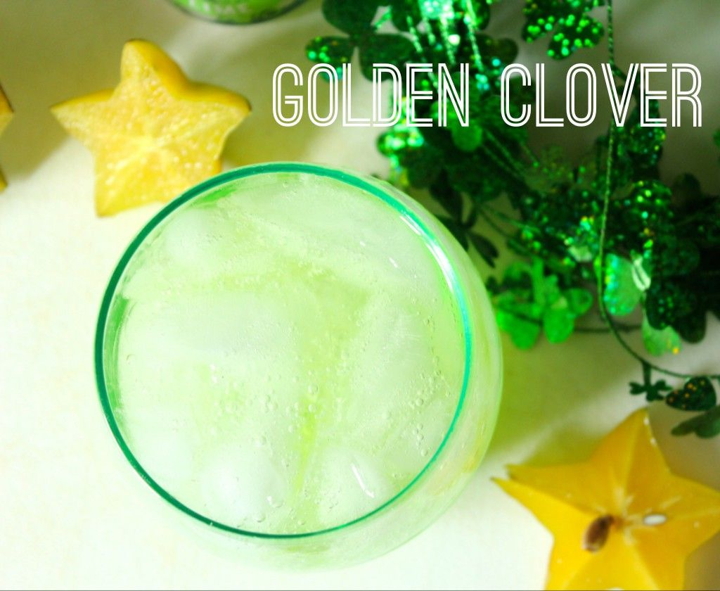 Golden Clover - tired of Whiskey everything on Saint Patricks day?  Refresh yourself with some Gin.