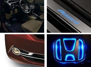 A F E Be E B A B on Neon Led Interior Car Trim