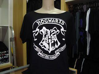 arte do rock: Harry Potter , ombro caído com Brasão de hogwarts ...