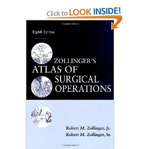 Zollinger And Zollinger Surgical Atlas Order Before Surgery
