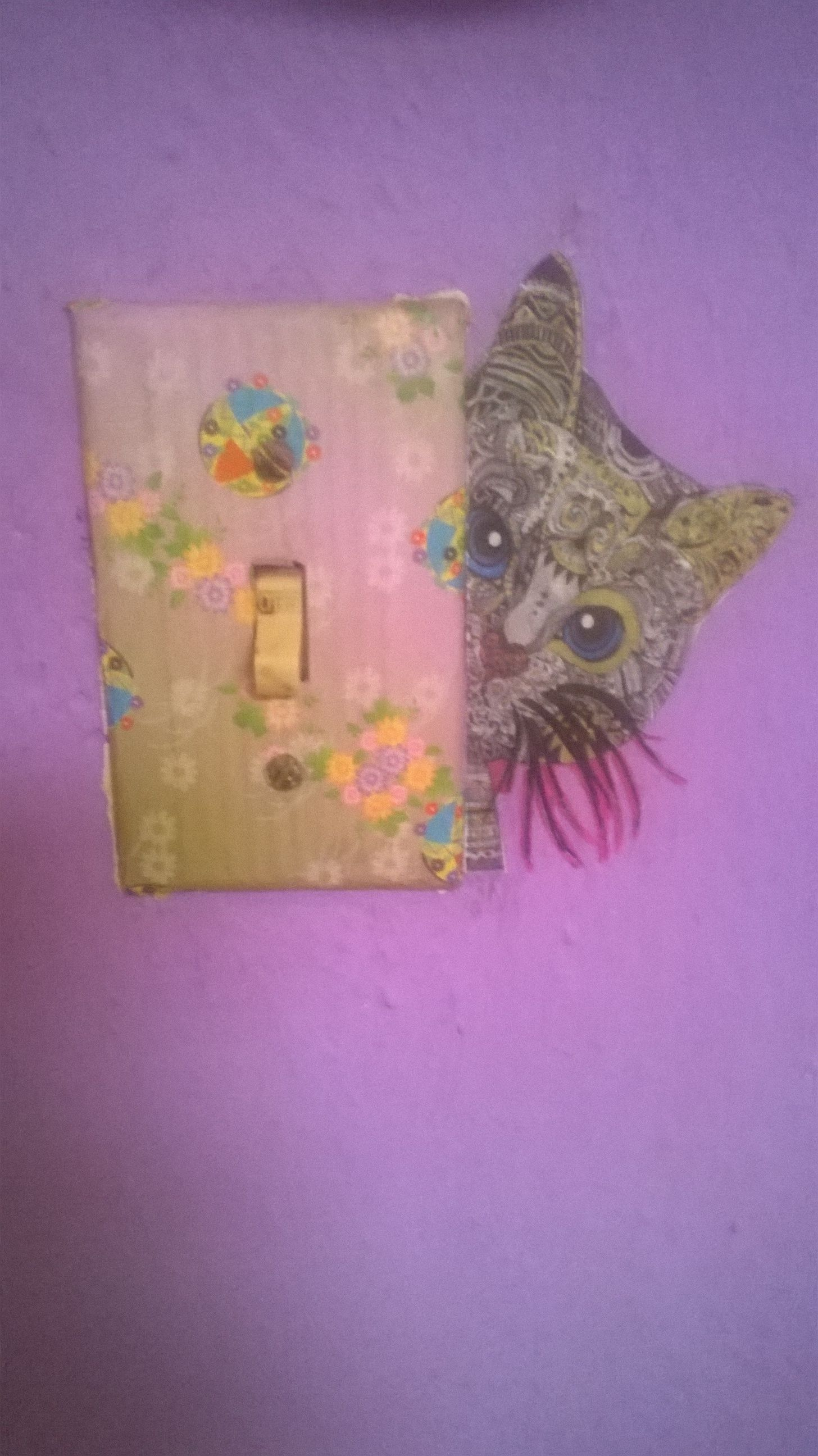 Hermoso decorado de gatito