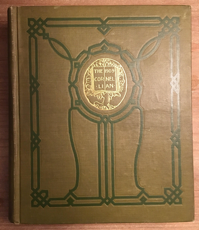 "Vintage 1909 Cornell University Yearbook ""The 1909"