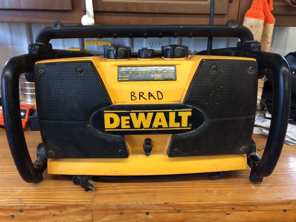 dewalt radio dw911. dewalt dw911 heavy duty work site radio/ charger #dewalt dewalt radio dw911 e