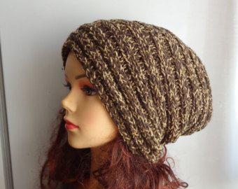 Loom knit big slouchy hat - Google Search  7035fa53495