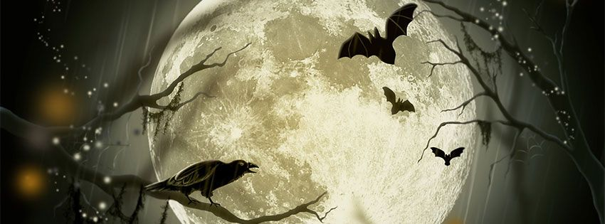 20+ Scary Happy Halloween 2017 Facebook Timeline Cover
