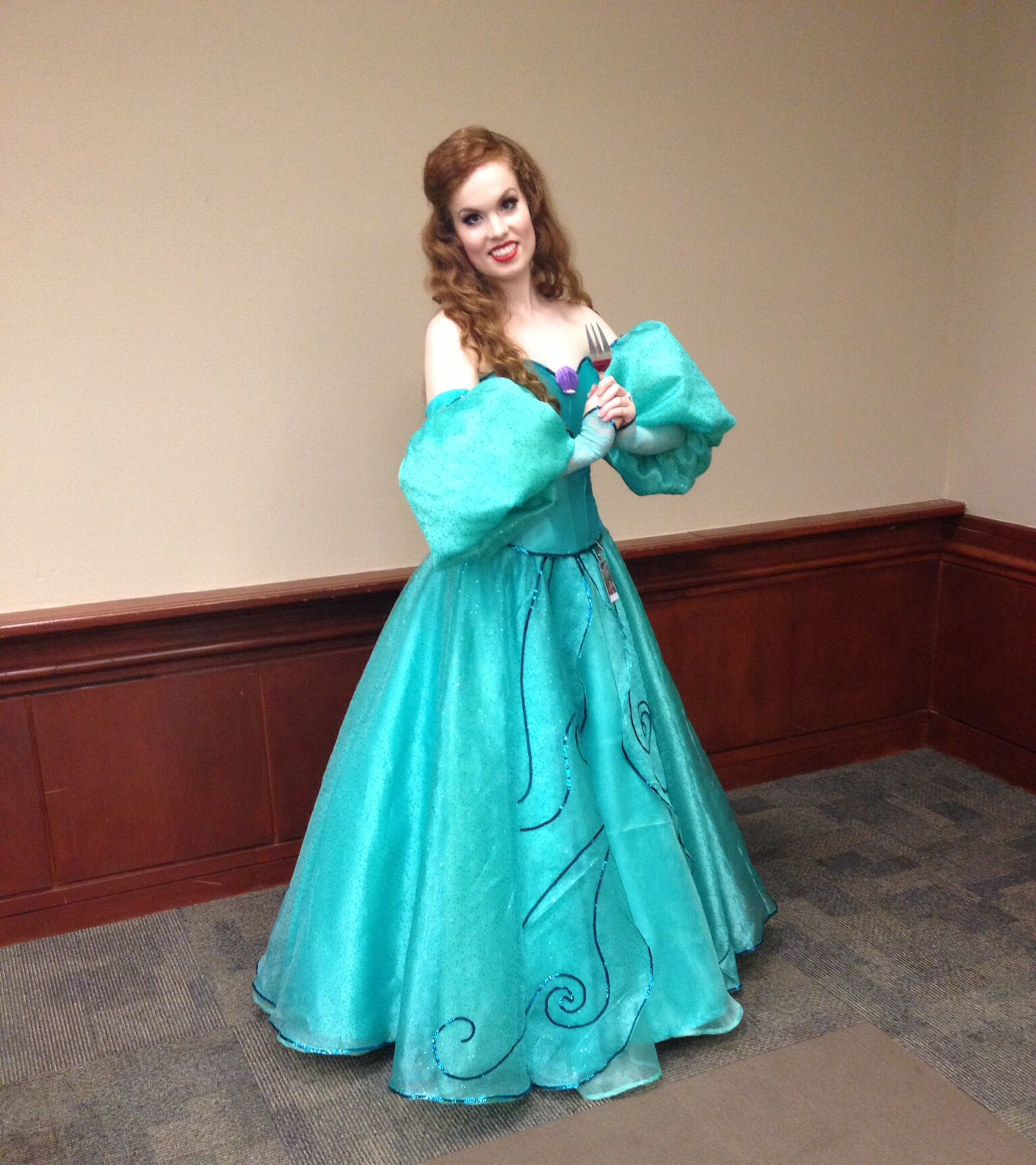 Ariel redesigned ball gown cosplay by Part Of That World Cosplay ...