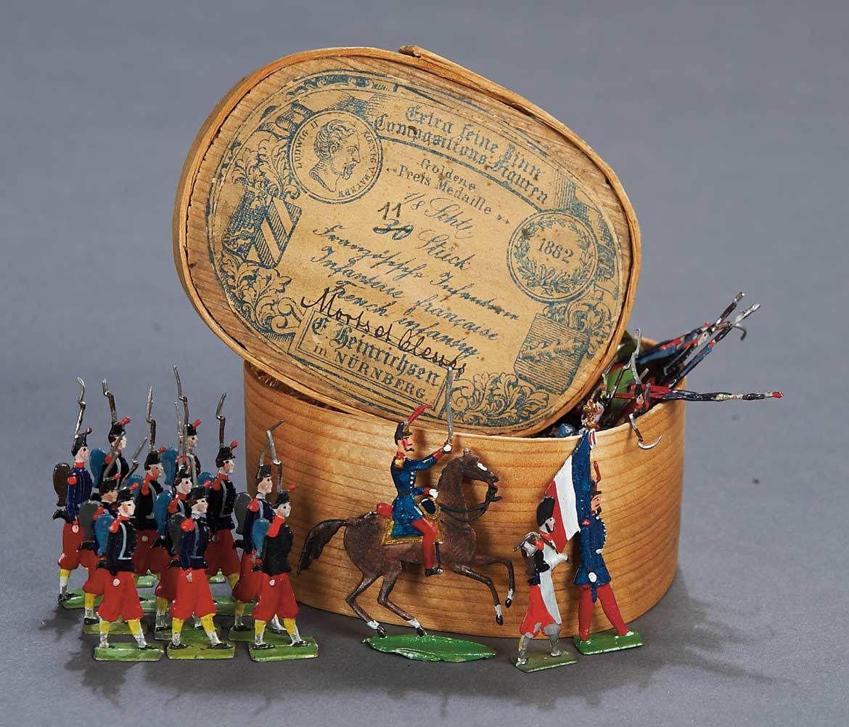 Casting german toying box