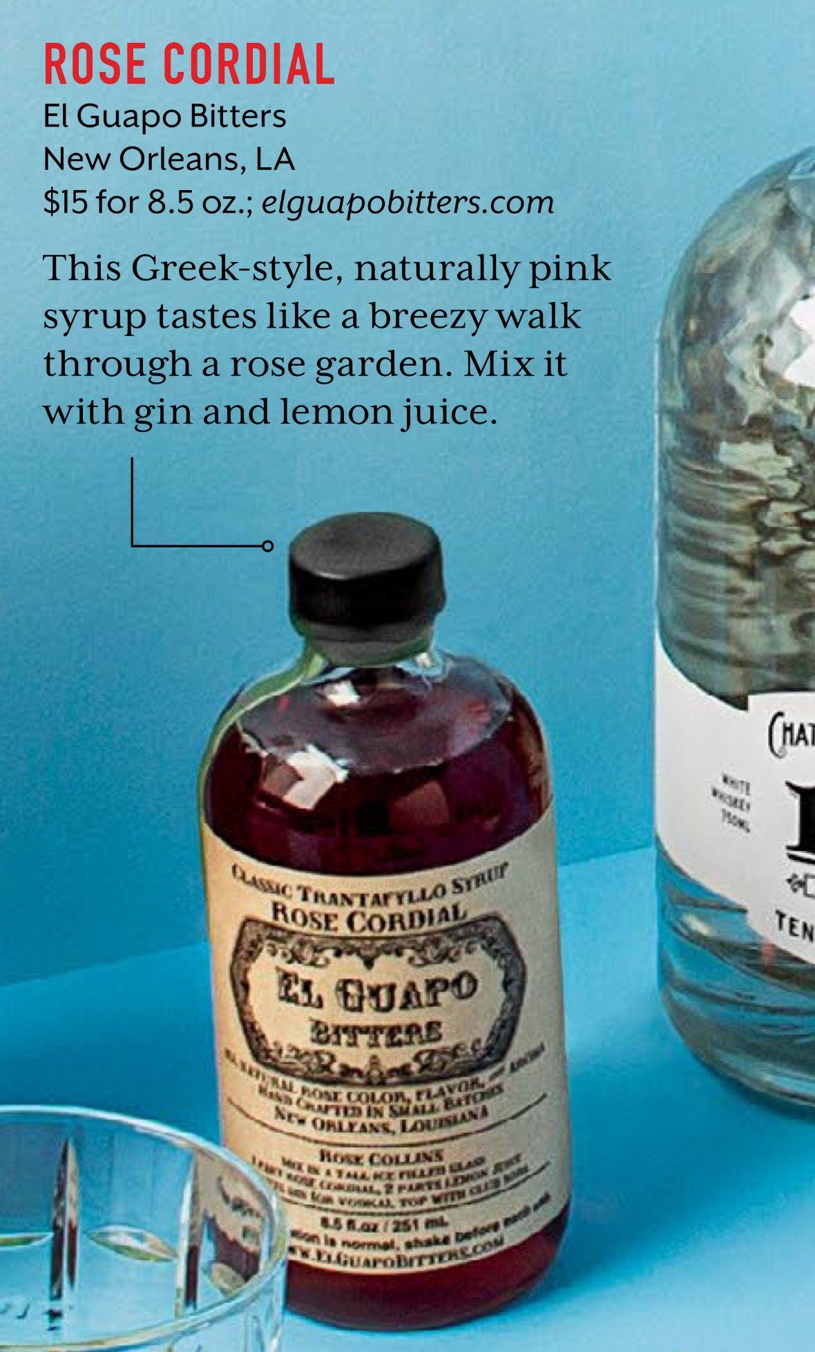 16++ El guapo craft cocktail mixers ideas