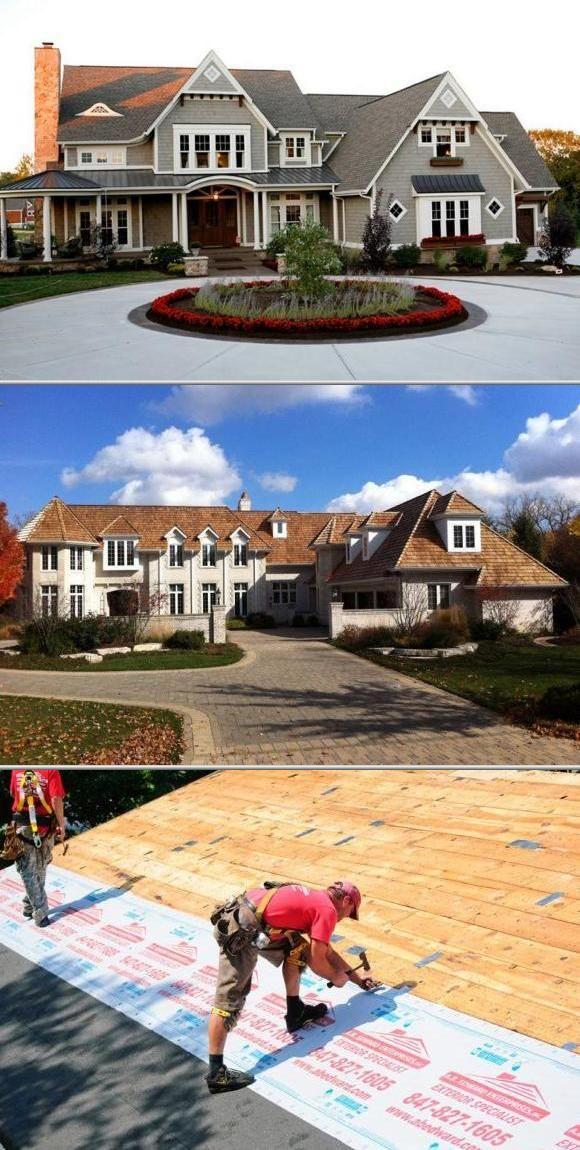 Owens Corning Woodcrest Shingles At Menards Roof Shingles Shingling Woodmoor