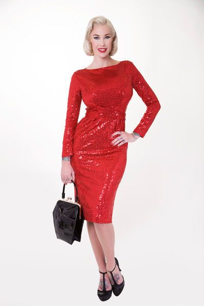 Bombshell wiggle dress plus