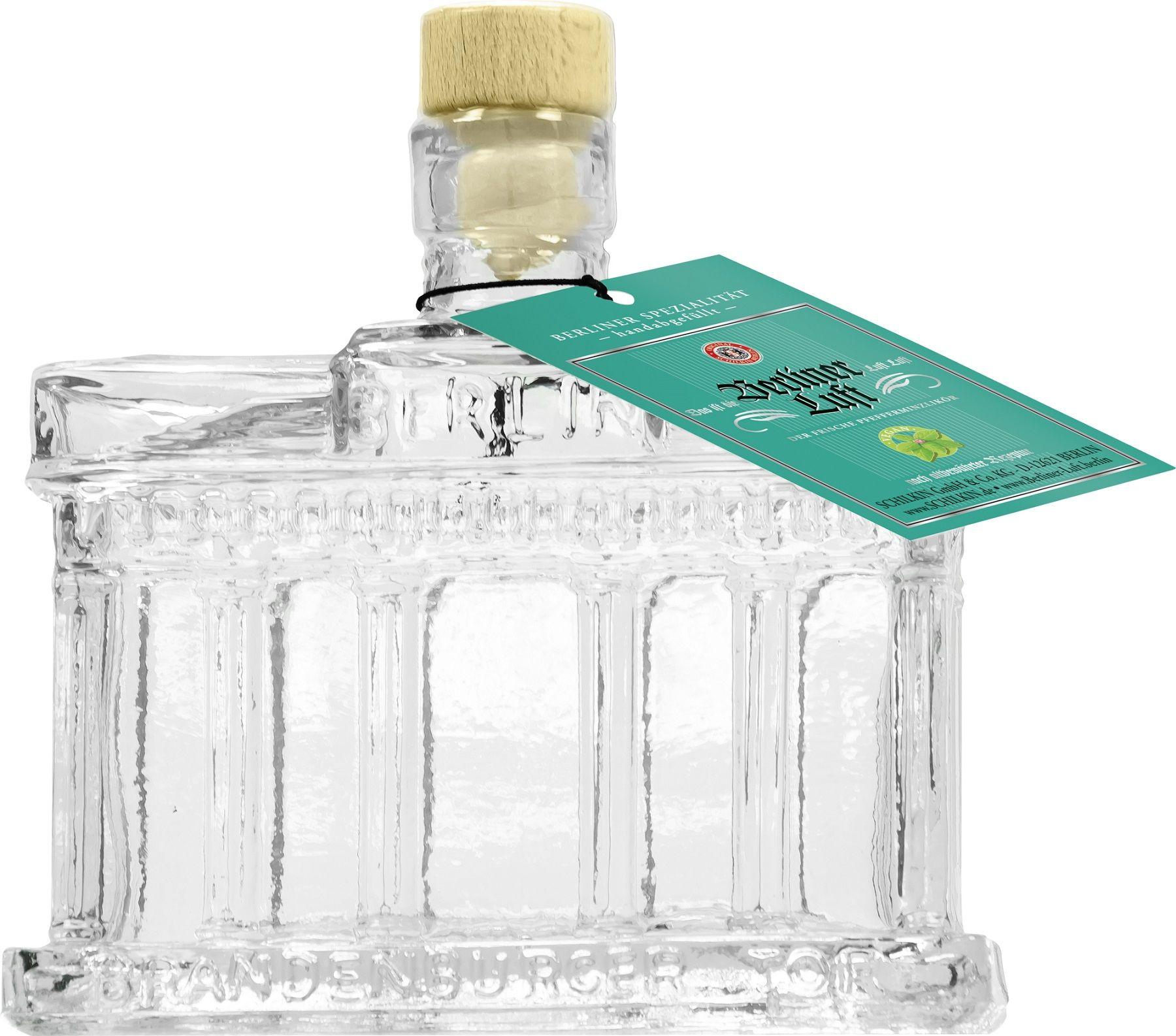 Berliner Luft Peppermint Schnapps Brandenburg Gate Bottle