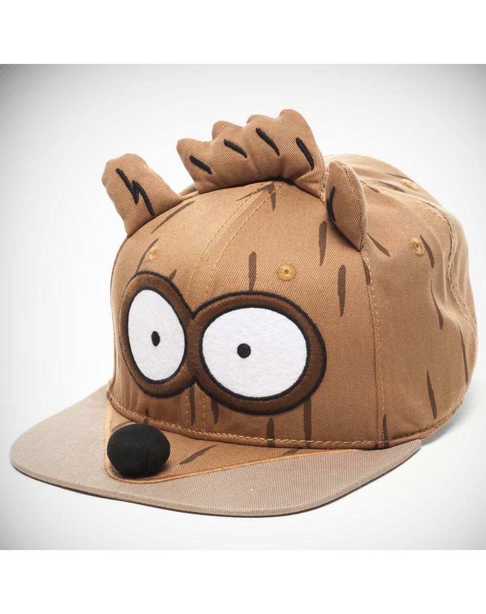 The Regular Show Rigby 3d Snapback Hat  d5043d2ad