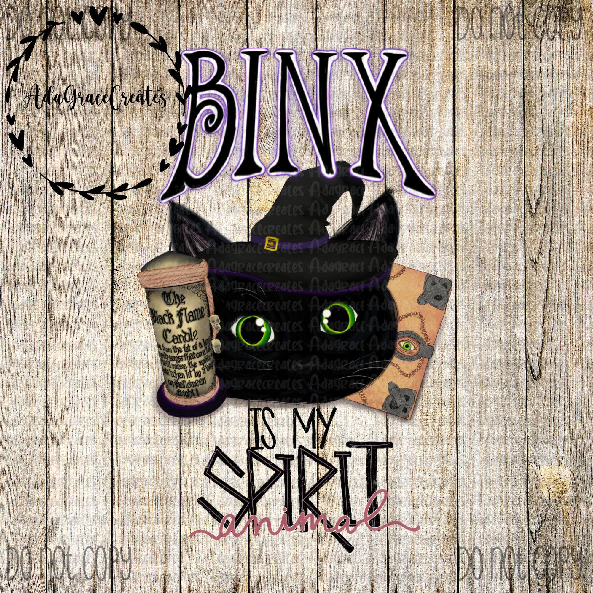 Hocus Pocus Png Binx Is My Spirit Animal Digital Etsy My Spirit Animal Spirit Animal Digital Watercolor