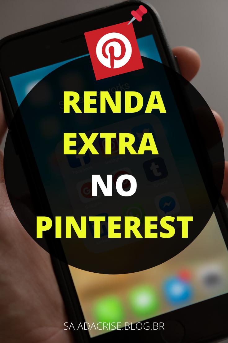 Renda Extra no Pinterest