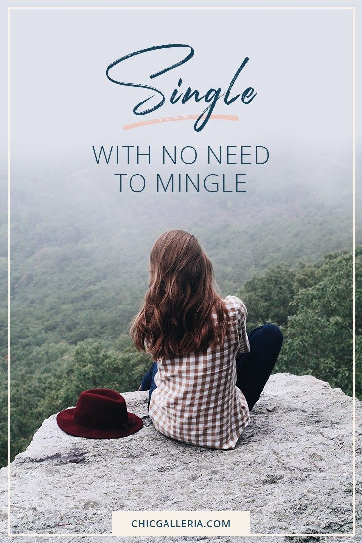 Single With No Need To Mingle  Chic Galleria  Single quotes