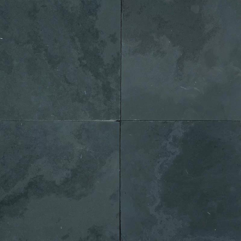 12x12 Slate Field Tile In 2020 Black Slate Tiles Slate Tile Slate Flooring