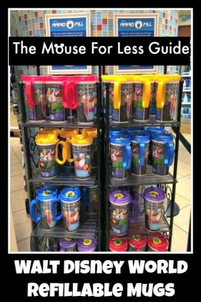 Rapid Fill Refillable Mugs Walt Disney World Disney World Disney Honeymoon