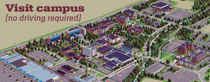 Asu Jonesboro Campus Map.Visit Ualr Using Our Interactive Campus Map Ualr University Of
