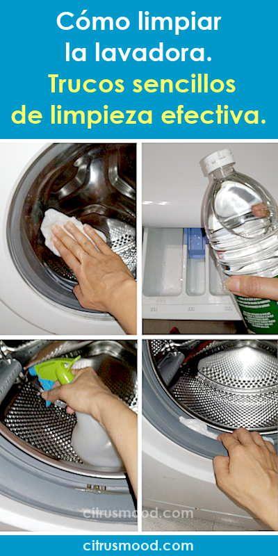 Somo Limpiar La Lavadora Trucos Sencillos De Limpieza Efectiva