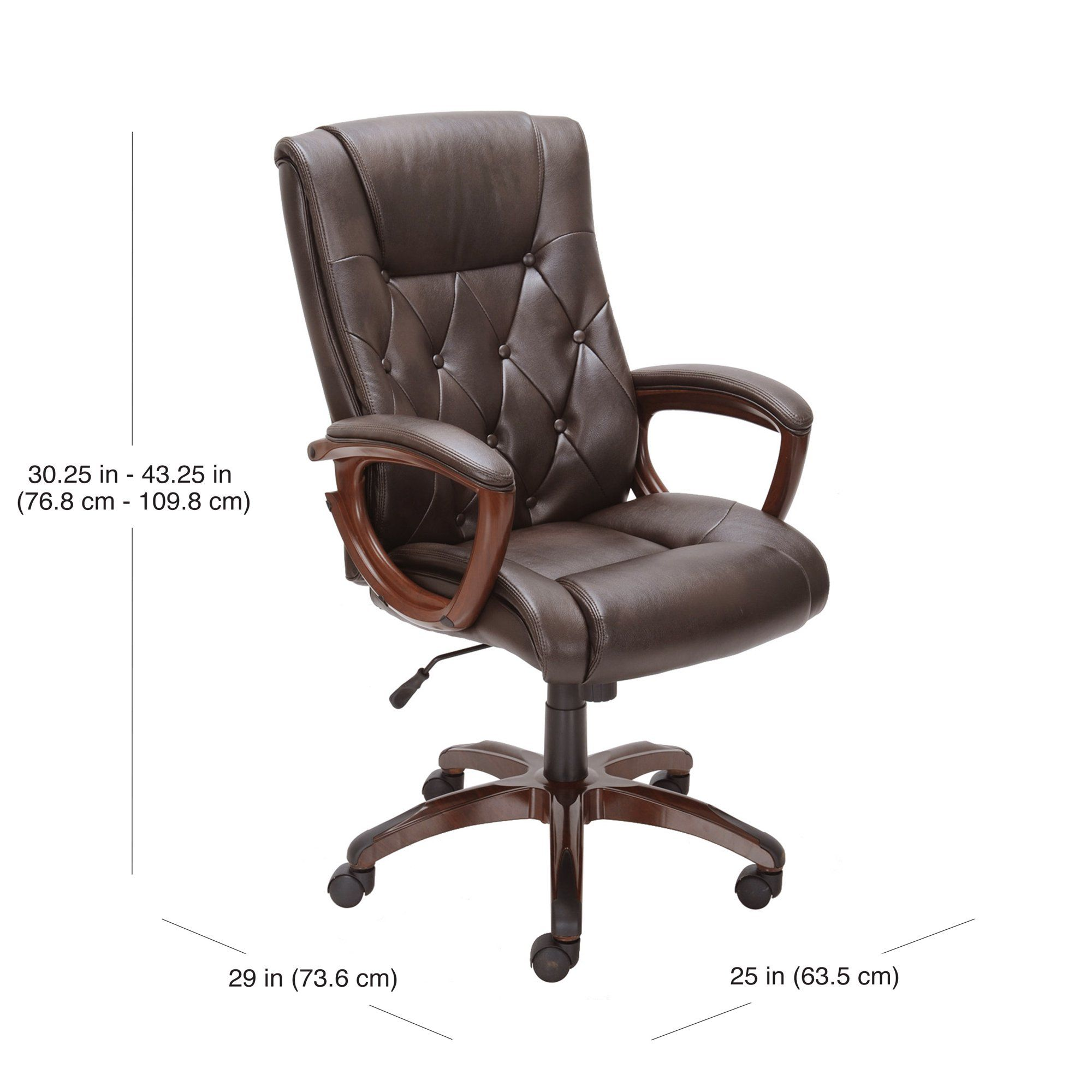 989b21ecfbd91226b5b76937ca54204c - Better Homes And Gardens Bonded Leather Office Chair