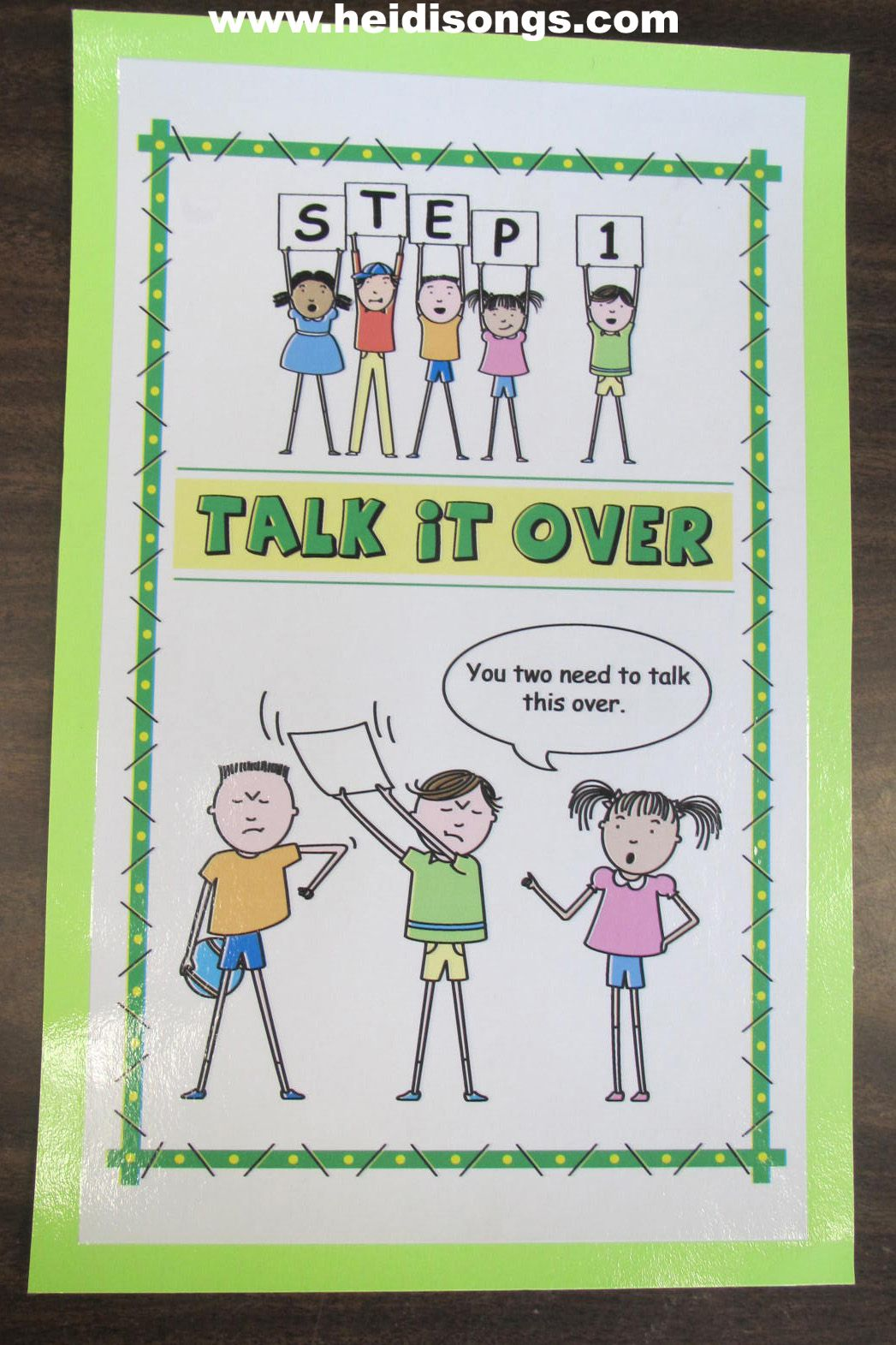 Social Skills Problem Solving Heidisongs Resource