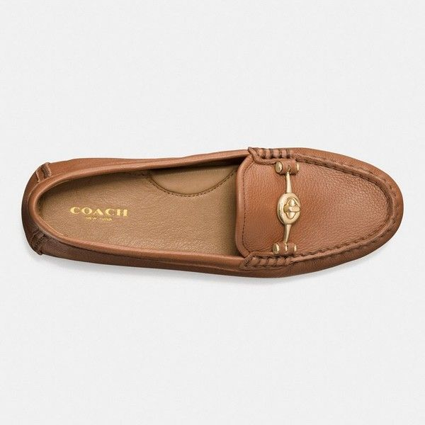 aafa83b78899 Coach Arlene Moccasin (215 CAD) ❤ liked on Polyvore featuring shoes ...