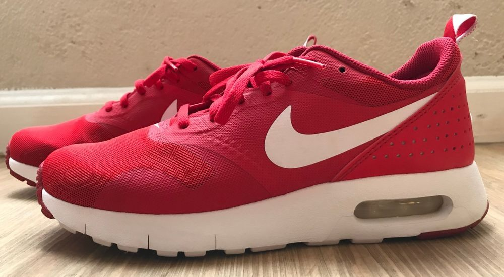 best cheap 3f261 21994 Red Nike Air Max Tavas Sneakers Size 6.5 (Big Kid) Women s 8 - Great  Condition  fashion  clothing  shoes  accessories  kidsclothingshoesaccs   boysshoes ...