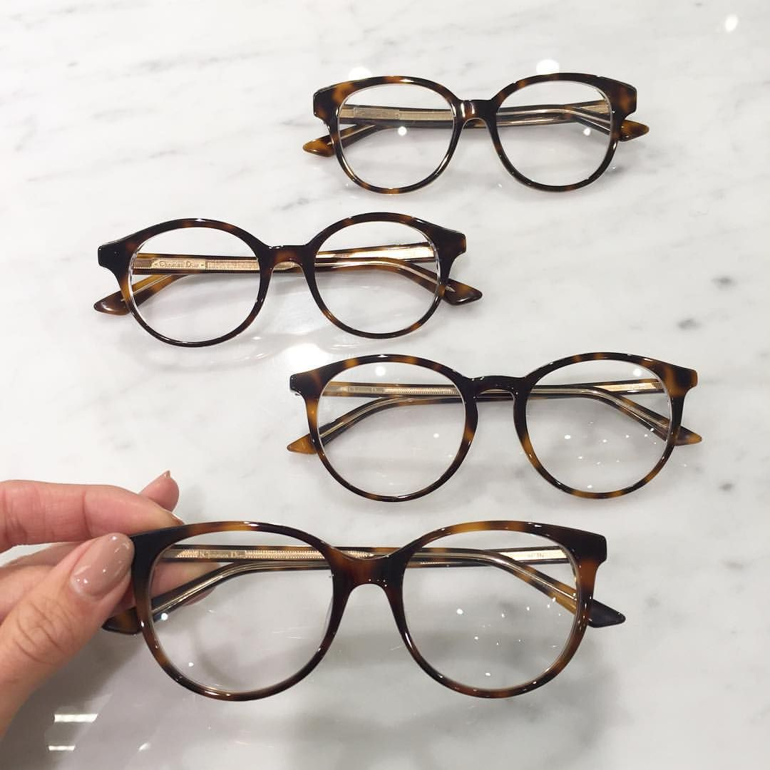 Sunglass Avenue On Instagram Thank You Dior For These Perfect Timeless Havana Basics The Dior Montaigne Collection Avai Dior Eyeglasses Cute Glasses Glasses
