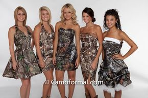 Country Camo Wedding Ideas Formal Dresses For A