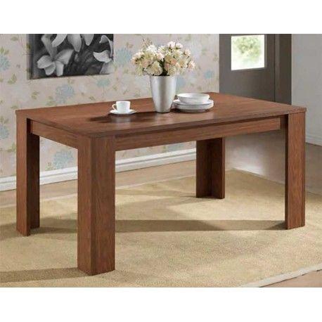 Elegante y con gran presencia mesa para salón con estructura ...