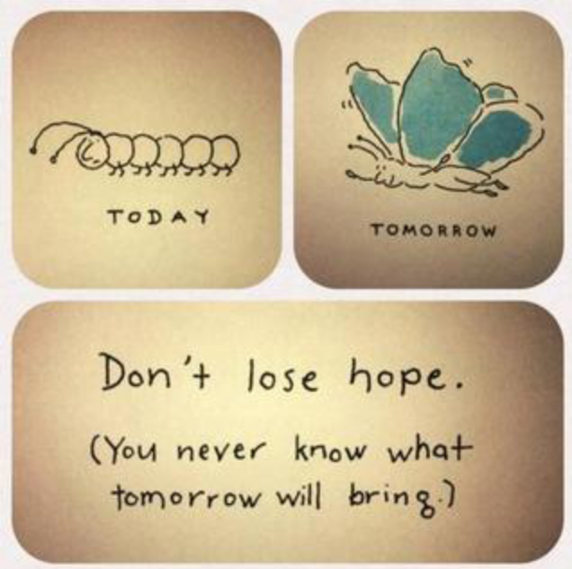 Recovery What About Tomorrow Dont Lose Hope Never Lose Hope